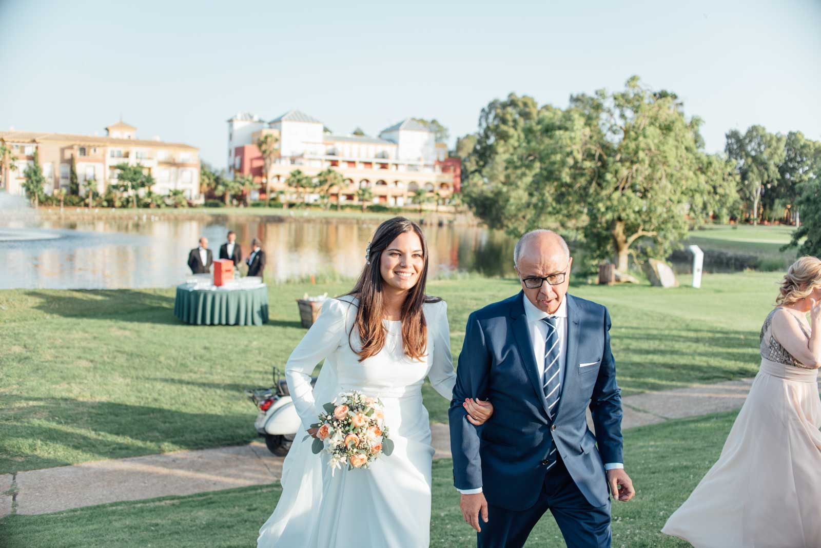 boda civil en isla canela golf huelva 100